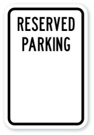 Reserved sign template printable wedding reception sign for Reserved parking signs template