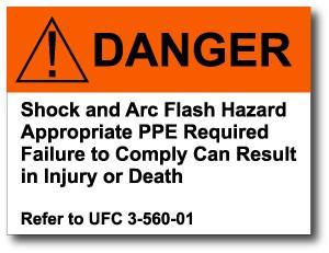 Arc flash danger labels free shipping for Danger arc flash labels
